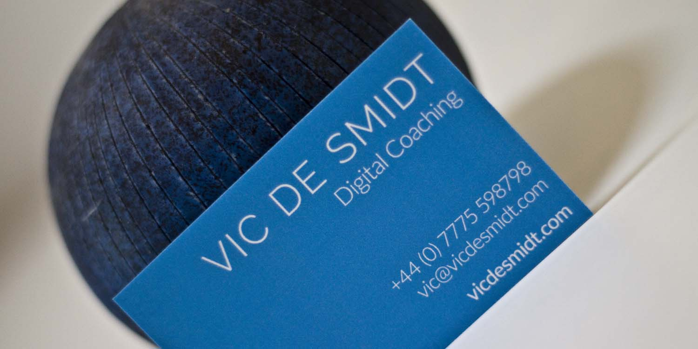 Vic de Smidt business card